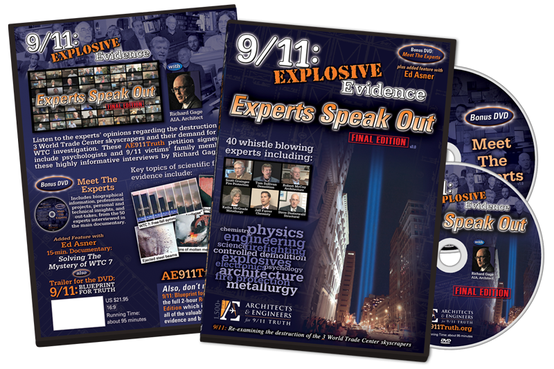 9/11 Experts Speak Out DVDs