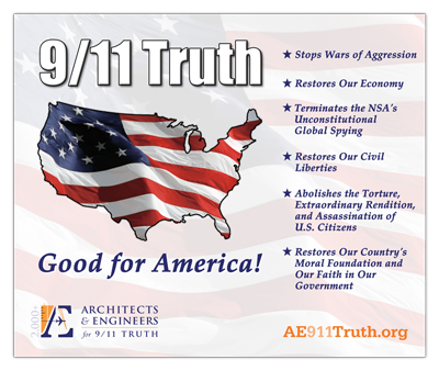 Banner - AE911Truth - Got Street Visibility?