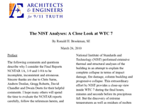 The NIST Analyses: A Close Look at WTC 7