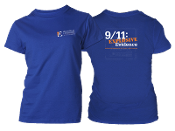 AE911Truth T-Shirt - women's