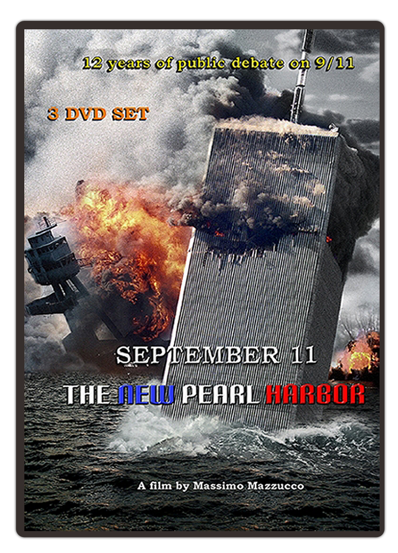 DVD Cased - September 11, The New Pearl Harbor, Written and Directed by Massimo Mazzucco